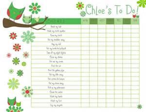 Blank Printable Reward Chart