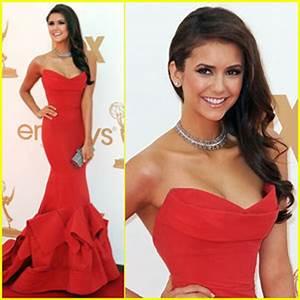 Nina Dobrev – Emmys 2011 Red Carpet   2011 Emmy Awards ...