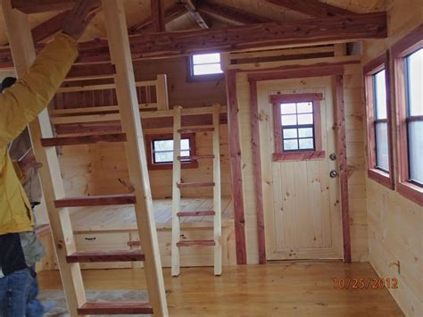 12x24 Shed Plans With Loft by Trophy Amish Cabins Llc 12 X 24 Cottage 384 S F