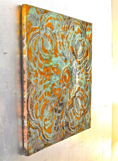 easy  budget friendly diy faux patina finishes  metal items shelterness