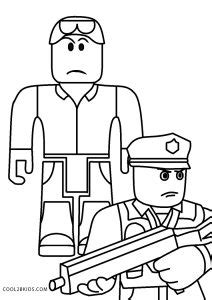 printable roblox coloring pages  kids