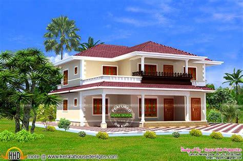 awesome  typical kerala model house kerala home
