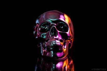 Skull 4k Slick Wallpapers Oil Ipad Ultra