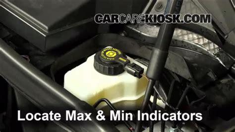 bmw  brake fluid level check  bmw