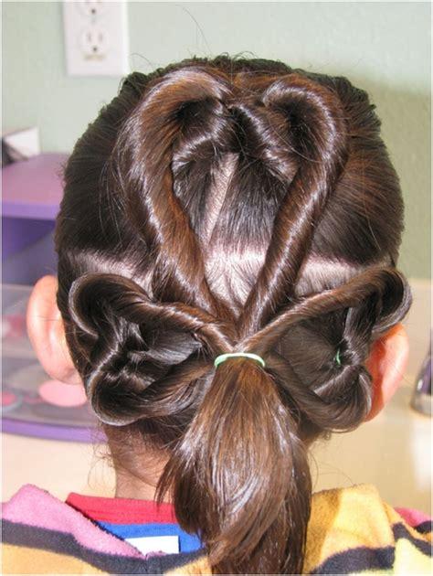 st patricks day shamrock hairstyles  girls