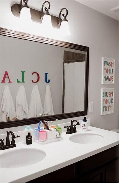 Bathroom Decor Shared Makeover Simple