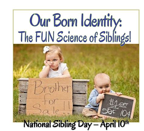 brothers national sibling day quotes quotesgram