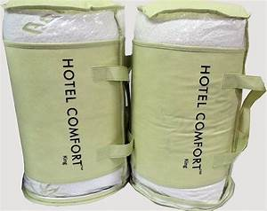 Two king pillows hotel comfort hypoallergenic bamboo for Comfort inn pillows
