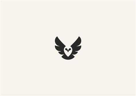 ideas  owl logo  pinterest simple owl