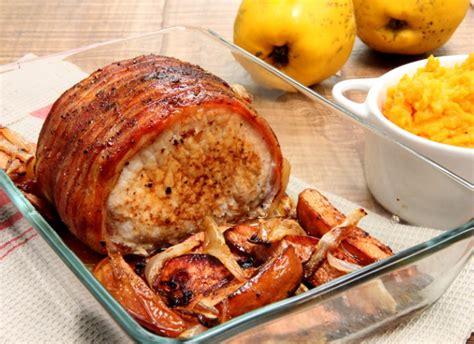 cuisiner un roti de porc au four rôti de porc aux coings purée de butternut la recette