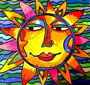 CBS Sunday Morning Sun Paintings