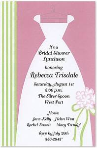 bridal shower invitations bridal shower invitations samples With sample wedding shower invitations