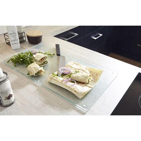 planche a decouper verre cuisine attirant planche pour plan de travail cuisine 11 leroy
