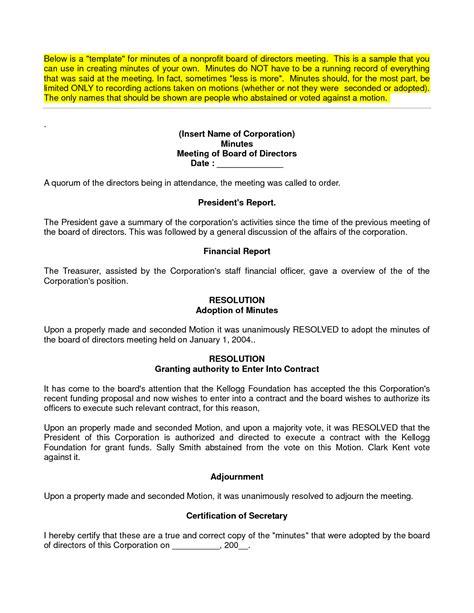 board minutes template board of directors meeting minutes template uk templates resume exles noy5ppvaj7