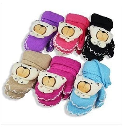 lovely doll series baby boy gloves quality