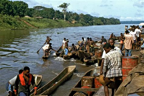 Boat Ride Back To Africa by Africa In The 70s Travel Documentary Photography By