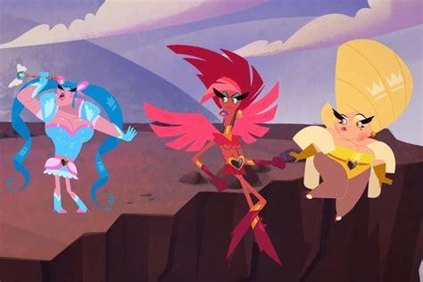 'super Drags' Trailer -meet Netflix's Animated Drag Queen