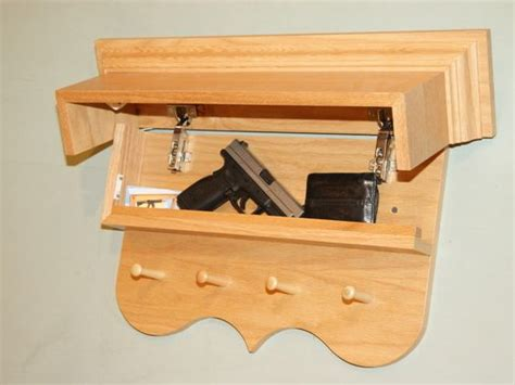 hidden gun hidden storage  furniture  pinterest
