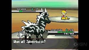 Pokemon Black: Victini Event with Liberty Pass Gameplay ...