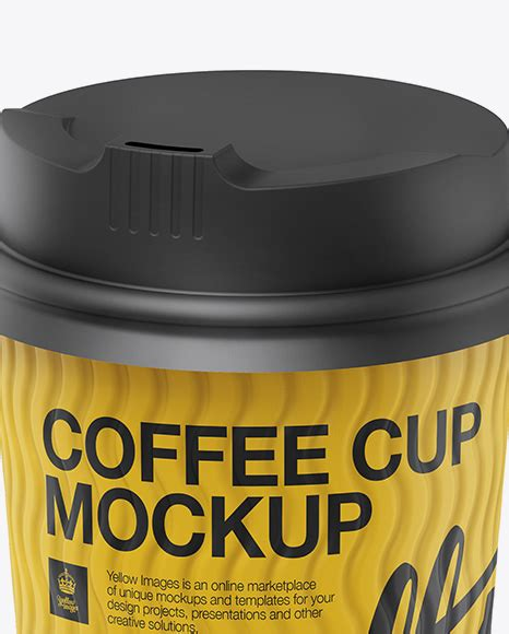 Having covered mug mockups, it entered my mind to touch upon their disposable relative — paper coffee cup mockup with, technically, the same function. Matte Coffee Cup Mockup - Halfside View (High-Angle Shot ...