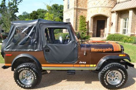 brown jeep renegade purchase used cj7 renegade brown excellent condition