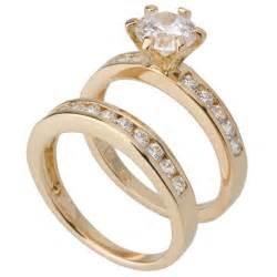 pearl wedding ring sets pearl engagement ring and wedding band set 3