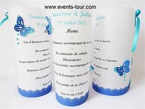 Menu photophore papillon cordouan x1 ref 10302 for Couleur avec bleu marine 15 menu photophore champetre x1