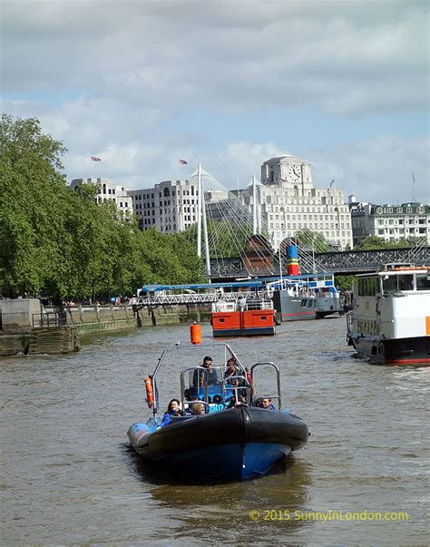 Speed Boat London Thames by City Cruises London Thamesjet With Gopro Speed Boat Tour