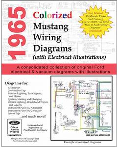 1965 Colorized Mustang Wiring Diagrams