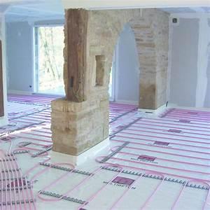 Plancher Chauffant Basse Température : planchers chauffants basse temp rature avec chape ~ Melissatoandfro.com Idées de Décoration