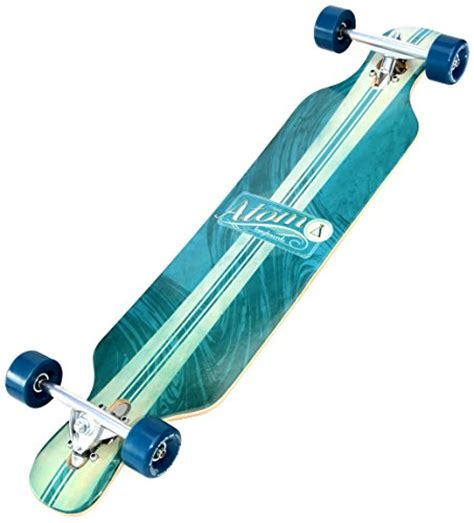 atom 39 bamboo drop deck longboard atom drop through longboard 39 inch 11street malaysia
