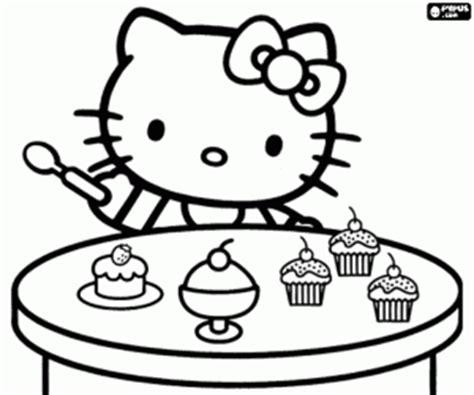 Cupcake Coloring Page Printable - Eskayalitim