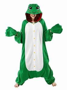 Warmes Halloween Kostüm : cozysuit frosch kigurumi kost m froschkost m onesie ~ Lizthompson.info Haus und Dekorationen