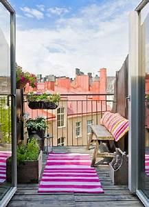 Peinture Balcon Sol : am nagemen balcon avec un sol bois comme le salon ~ Premium-room.com Idées de Décoration