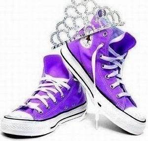 Best 25 Purple converse high tops ideas on Pinterest