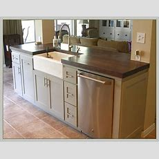 Kitchen Island With Sink And Dishwasher  First Home In