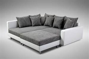 Big Sofas L Form : sofa couch leder wei l form stuttgart smash ~ Bigdaddyawards.com Haus und Dekorationen