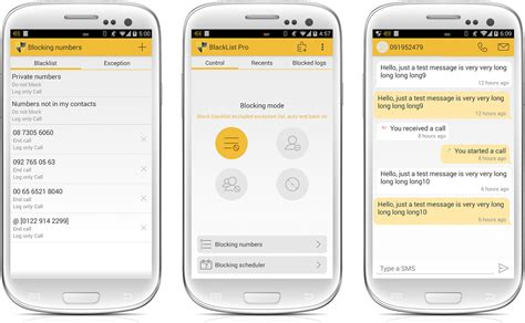 how to create a text on android how to block calls and texts on an android phone phandroid