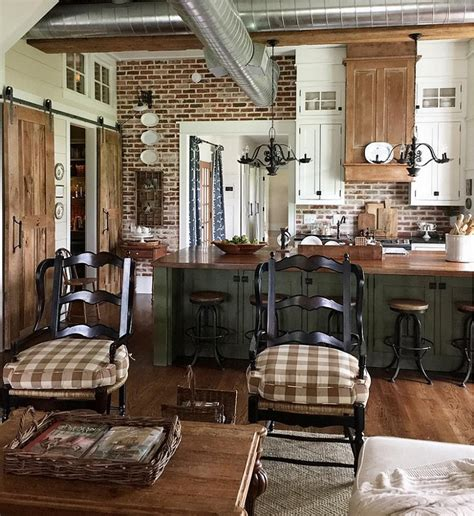 farmhouse country kitchen beautiful homes of instagram home bunch interior design 3689