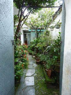 maximize small garden spaces narrow alley sunny