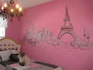 Girls Paris Bedroom Decor
