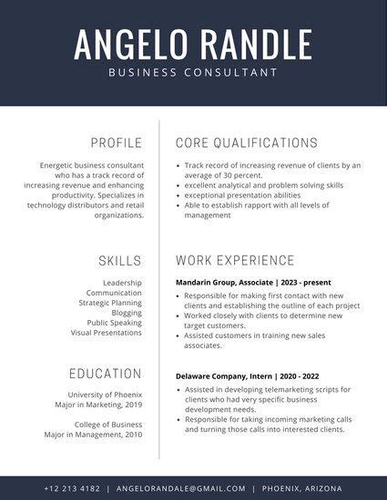 Corporate Resume by R 233 Sum 233 Templates Canva