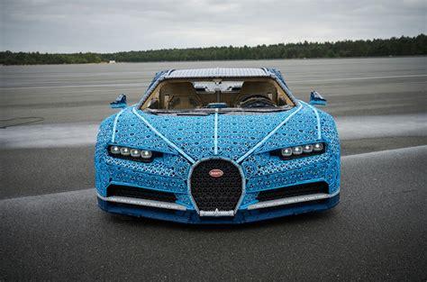 full scale lego bugatti chiron  uk debut autocar