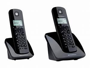Combiné Téléphone Fixe : motorola c402 t l phone sans fil avec id d 39 appelant combin suppl mentaire t l phonie fixe ~ Medecine-chirurgie-esthetiques.com Avis de Voitures