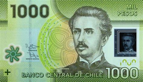 1000 Pesos Chile 2012 P161var B976243 Banknotes