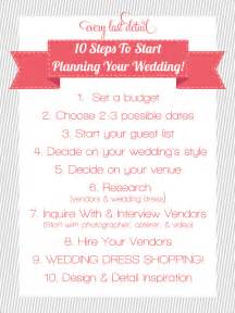 how to plan wedding wedding planner tlcevents
