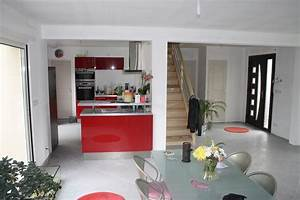 voir interieur maison moderne design en image With interieur de maison contemporaine photo