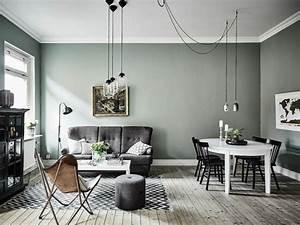 Couleur de peinture tendance 2018 choisissez les teintes for Beautiful photo peinture salon 2 couleurs 5 peinture murs de mon entree salon cuisine