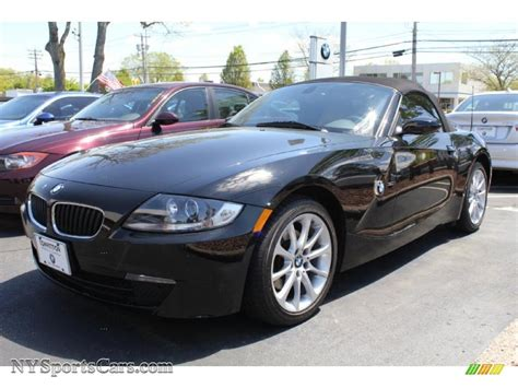 2008 Bmw Z4 3.0i Roadster In Jet Black