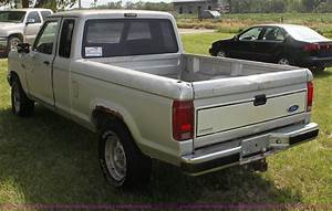 1989 Ford Ranger Xlt Supercab Pickup Truck In Council